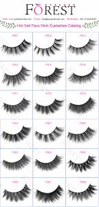 FOREST COMPANY faux mink eyelashes catalog