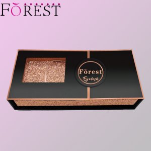 middle open lashes box F13