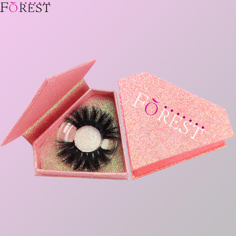 diamond glitter lash box F04
