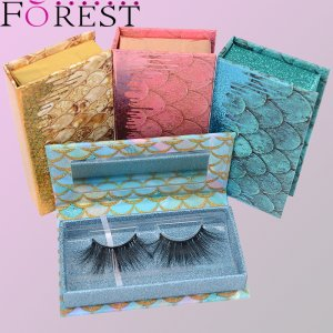 lashes box with mirror F18