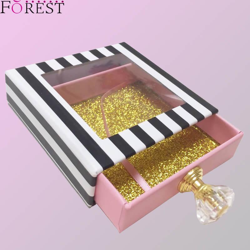 square box with diamond handle F01