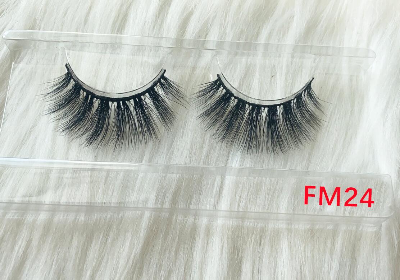 long silk eyelashes FM24