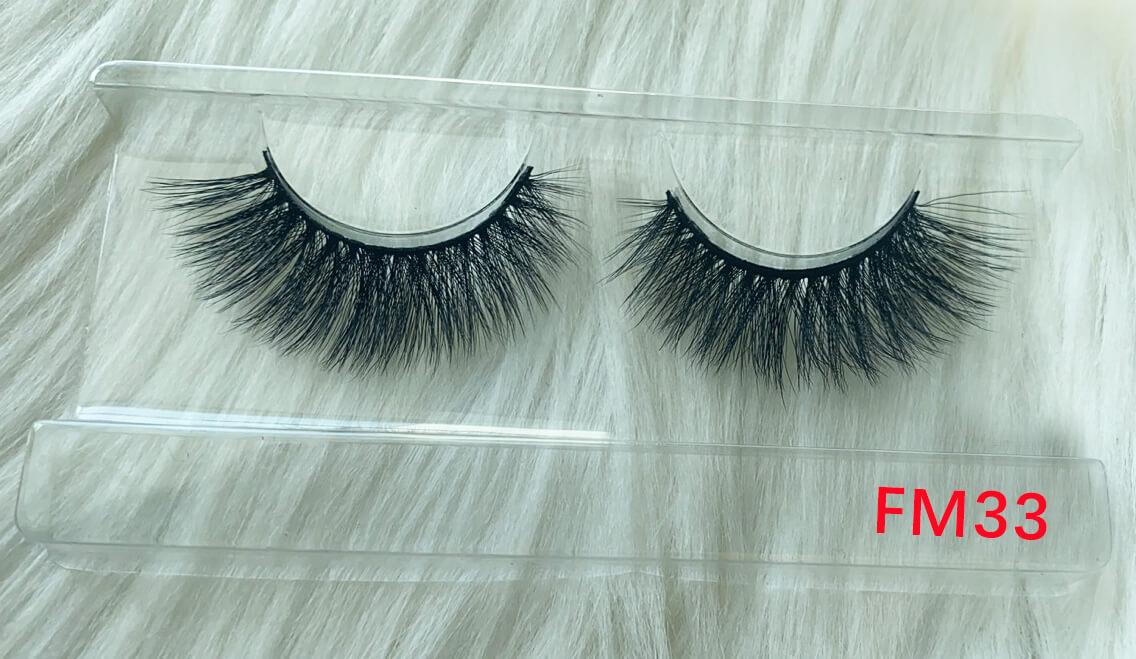 Silk lashes supplier FM33