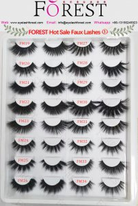 FOREST faux lashes catalog